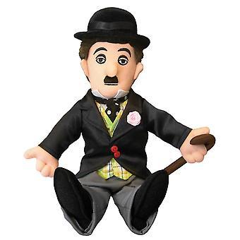 Plys - Lille Tænker - Charlie Chaplin Soft Doll - Licenseret - 0931
