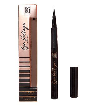 SOSUbySJ Eye Voltage Liquid Eyeliner Jet Black