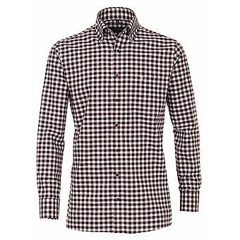 CASA MODA Casa Moda Check Button Down Collar Shirt