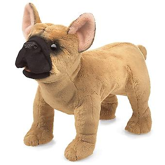 Hand Puppet - Folkmanis - French Bulldog New Animals Soft Doll Plush Toys 3066