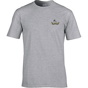 Royal Warwickshire Regiment - T-Shirt Premium ricamata dall'esercito britannico con licenza