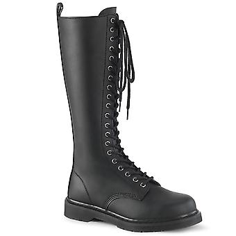 Demonia Unisex Støvler BOLT-400 Blk Vegansk Læder