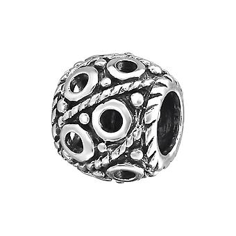 Runde - 925 Sterling Silber Plain Beads - W9625X