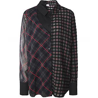 Crea Concept Wool Blend Check Shirt