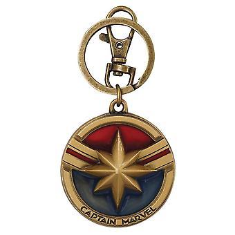 Captain Marvel Movie Keychain