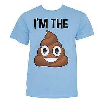 Poop Emoji Im the S**t Tee Shirt