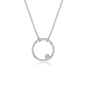 Elli Silver Women's Necklace 925 - Circle