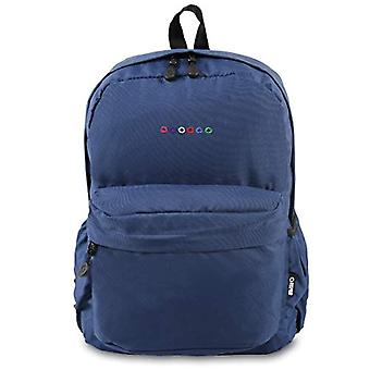 J World New York Campus Oz Casual Backpack - 43 cm - 22 liters - Navy