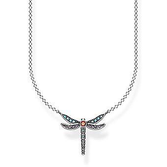 Thomas Sabo Silver Pendant Necklace 925 KE1837-845-7-L45v