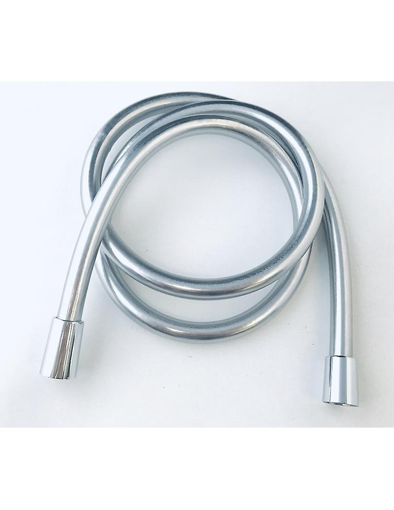 Flexible Tube In Smooth Silver Pvc, Cm 100