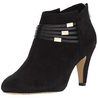 Bella Vita Womens nerissa Fabric Almond Toe Ankle Fashion Boots