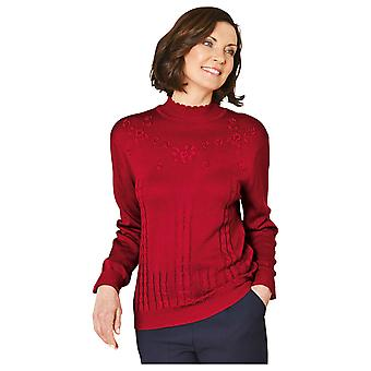 Chums Ladies Embroidered Jumper
