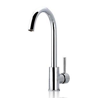 Euro Classic Round Chrome Long Kitchen Sink Mixer