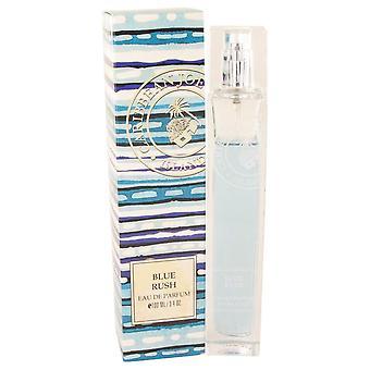 Blue rush (caribbean joe) eau de parfum spray by caribbean joe   462297 100 ml
