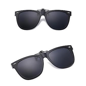 Sunglasses clip on/flip up polarized UV glasses