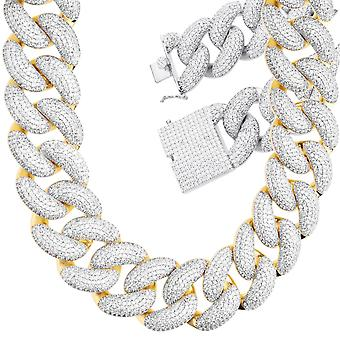 Iced Out Zirconia Armor Chain - Miami 2.0 Cubain 25mm
