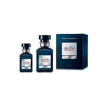Adolfo Dominguez Agua Fresca extreme Gift Set 120 ml EDT + 30ml EDT