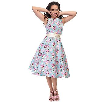Collectif Vintage Women's Margaret Peony Floral Swing Dress