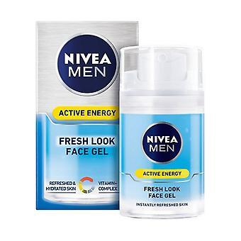 Nærende facial creme mænd hud aktiv energi nivea (50 ml)