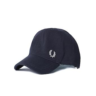Fred Perry Midnight Navy Pique Classic Cap