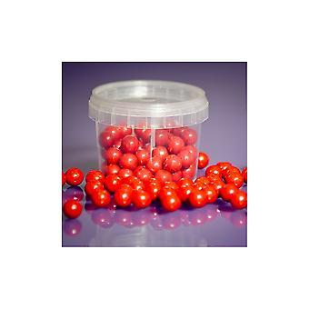 Pérolas roxas do açúcar vermelho do queque 10mm