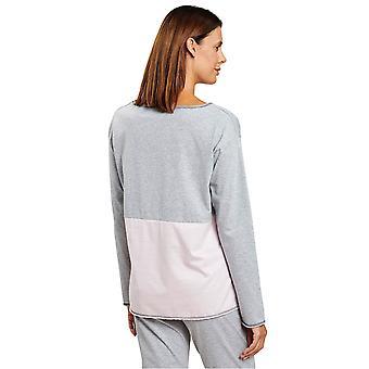 Rösch 1204086-16422 Women's Smart Casual Rose Grey Loungewear Top
