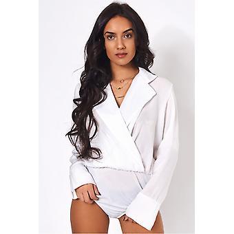Sofia Satin Bodysuit