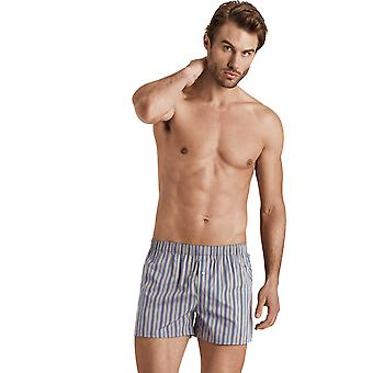 Hanro Men's Underwear Fancy Woven boxer shorts brown