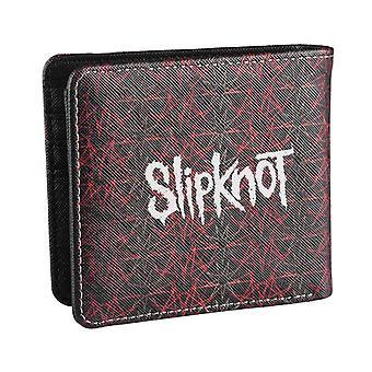 Slipknot Wallet Star band logo typ Skriv ut ny officiell svart Bifold