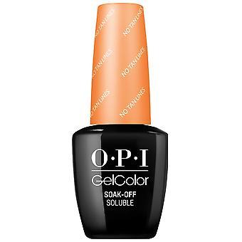 OPI GelColor Gel Color - Soak Off Gel Polish - No Tan Lines 15ml (GC F90)