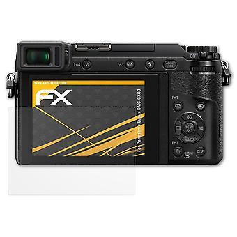 atFoliX Verre film protecteur compatible avec Panasonic Lumix DMC-GX80 9H Hybride-Verre