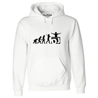Réalité glitch dj evolution mens hoodie