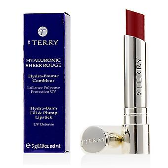 Hyaluronic sheer rouge hydra balm fill & plump lipstick (uv defense) # 12 be red 162987 3g/0.1oz