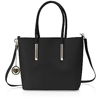 Chicca Bags Cbc3330tar Black Women's Shoulder bag 12x29x35 cm (W x H x L)