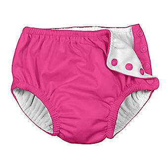 i play. Snap Reusable Swimsuit Diaper, 6 Months, Hot Pink, Size 6 Months