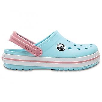 Crocs 204537 Crocband Clog Дети Clogs Ice Blue/белый