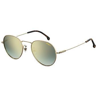 Carrera 216/G/S 000/EZ Rose Gold/Green Sunglasses-Gunmetal Sunglasses