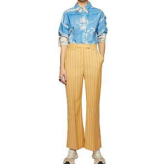 Acne Studios Ak0207aca Women's Multicolor Wool Pants