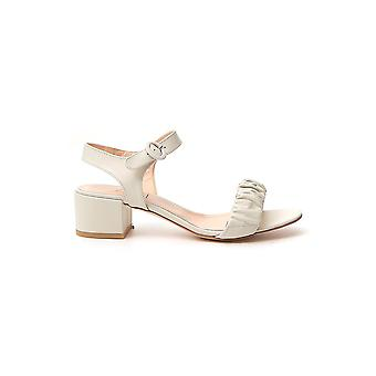 Agl Attilio Giusti Leombruni D631088pcsmoot0115 Women's White Leather Sandals