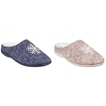 Fleet & Foster Womens/Slippers Metz Mule Slippers