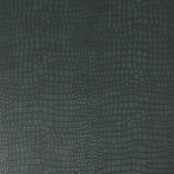 Superfresco Easy Crocodile Skin Animal Pattern Getextureerd Vinyl Donkergroen behang