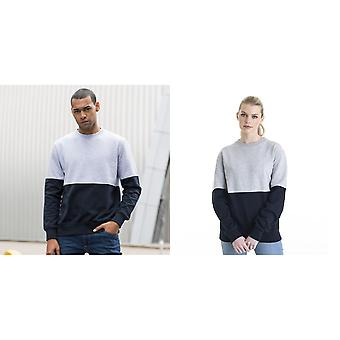 AWDis Unisex Colour Block Sweatshirt