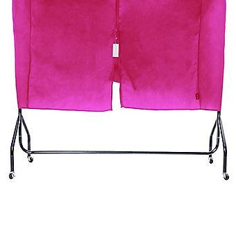 Rosa 120cm 4ft cubierta protectora ropa de abrigo de ropa Hanger almacenamiento