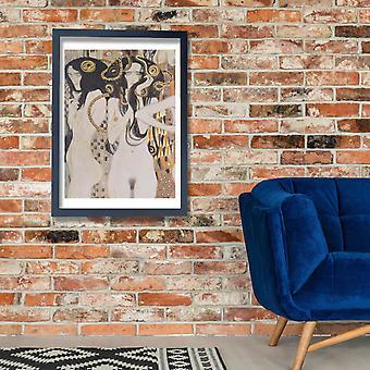 Gustav Klimt - Die Gorgonen cartel impresión Giclee