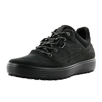 ECCO 450254 Soft 7 Tred Men's Hydromax Lace-up Shoes In Black
