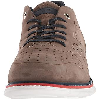 ara Mens Mack Leather Lace Up Casual Oxfords