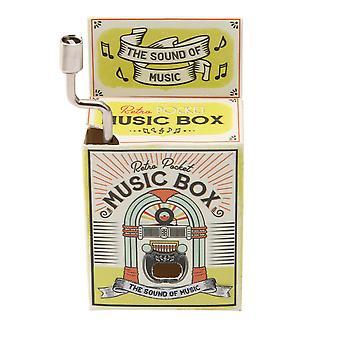 Retro Pocket Sound Of Music Musical Box