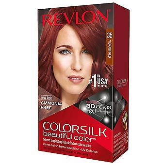 רבלון צבע שיער משי, #35 אדום תוסס, 1 ערכת