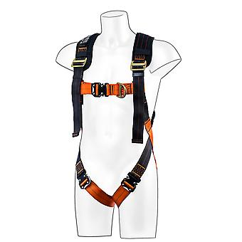 Portwest - Ultra 2 Point Full Body Caduta Arresto Harness Red XL/2XL