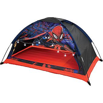 Spiderman dream den play tent with lights mv sports